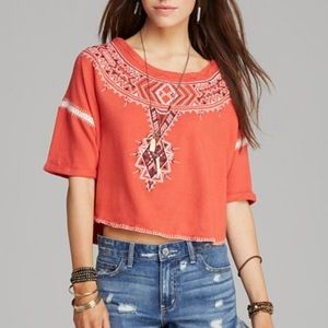 FREE PEOPLE | Embroidered Avalon Top